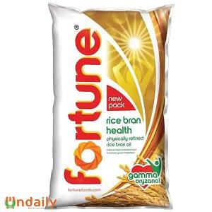 Fortune Rice Bran Oil, 1 L Pouch