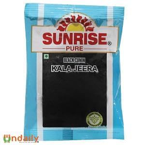 Sunrise Pure Black Cumin Kala Jeera 50 g