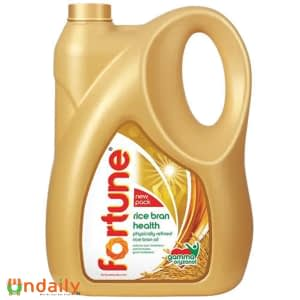 Fortune Refined Oil - Rice Bran, 5 L Can